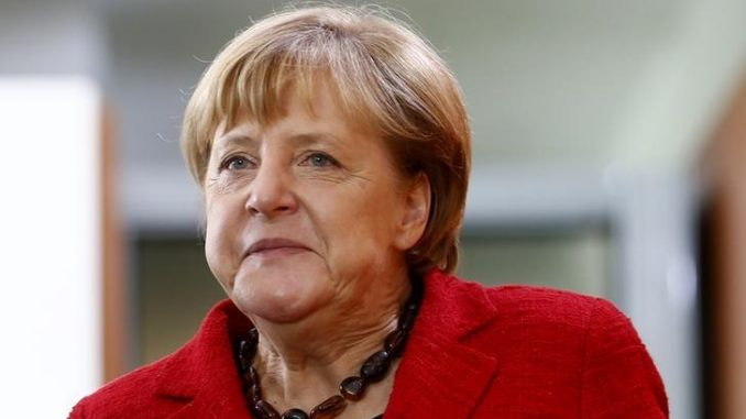 German Chancellor Angela Merkel claims there is clear evidence Assad used chemical weapons in Syria