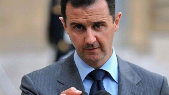 Bashar Assad says that whenever Syria defeats ISIS, the West intervenes with a false flag attack