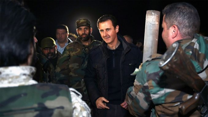 Bashar Assad says U.S. strikes have strengthened his resolve to fight ISIS