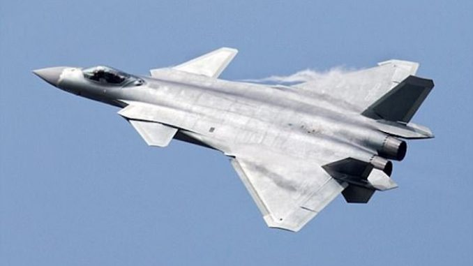 China unveils fighter jets equipped with invisibility cloaks
