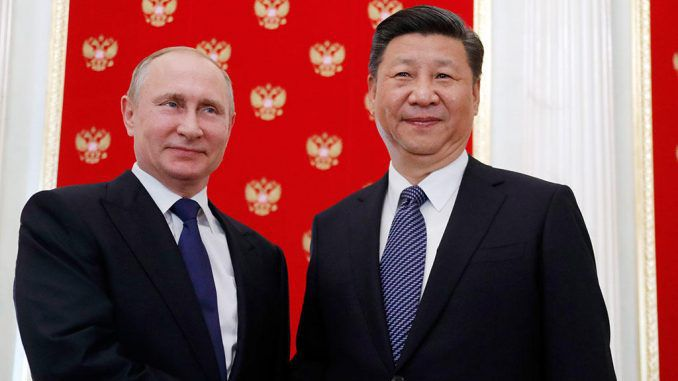 Russia and China join military forces to combat imminent nuclear war