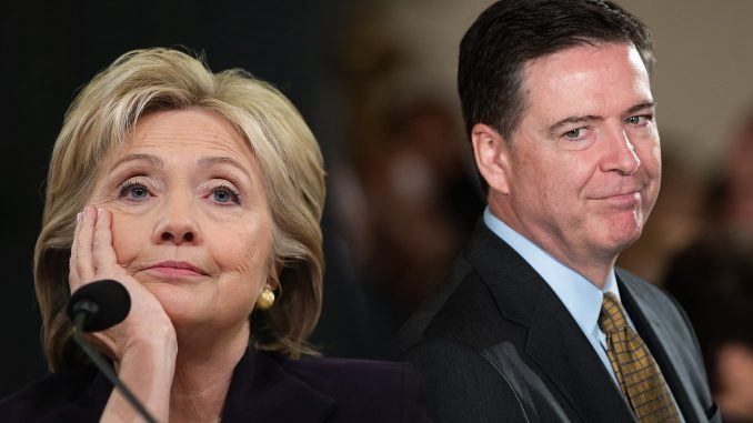 James Comey says he would never have reopened the Clinton probe if he knew Hillary would have lost the election
