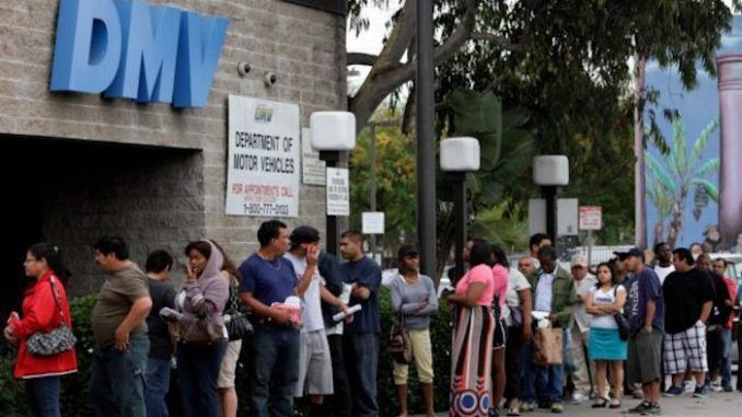 DMV admit over one million illegal aliens are registered to vote in 2020 election