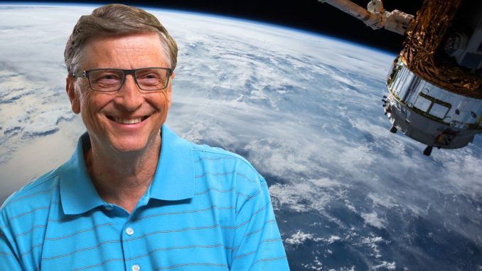 "Bill Gates has announced plans for a satellite network that will provide imagery and live video of ""every inch of the planet"" in real time."