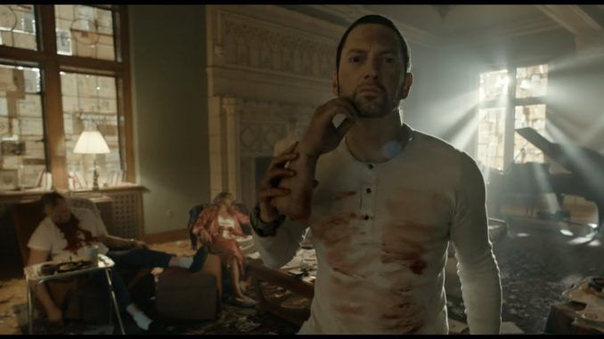Eminem's disturbing new video Framed is infused with Illuminati and MKUltra symbolism and explains the life of a mind-controlled slave.
