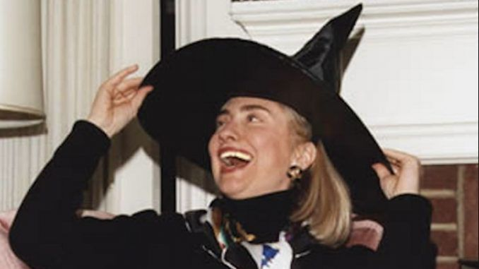 Hillary Clinton joins international coven