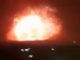 An Israeli airplane has dropped a tactical nuclear bomb on a Syrian ammunition depot, according to local reports.