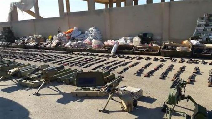Syrian army intercept USA and Israeli made missiles headed for ISIS militants
