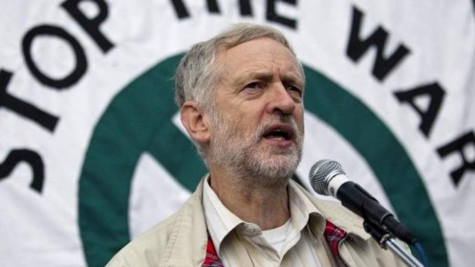 Jeremy Corbyn blasts mainstream media for covering-up Israel's genocide against Palestinians in Gaza