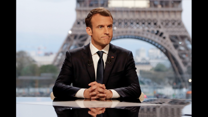 President Macron says he plans to flood Europe with hundreds of millions of African migrants