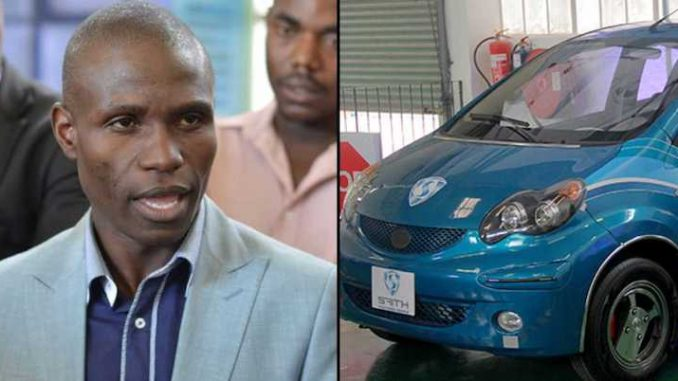 A man from Zimbabwe has one upped Tesla by inventing an electric car that doesn't need charging