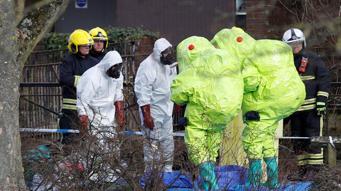 UK government scientists confirm nerve agent attack did not originate in Russia
