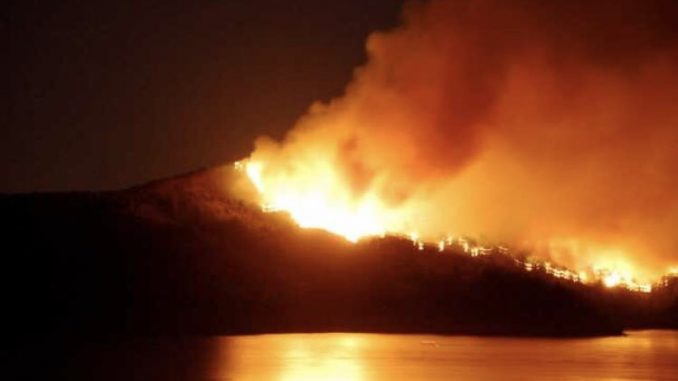 Jeffrey Epstein's pedo island burns to the ground