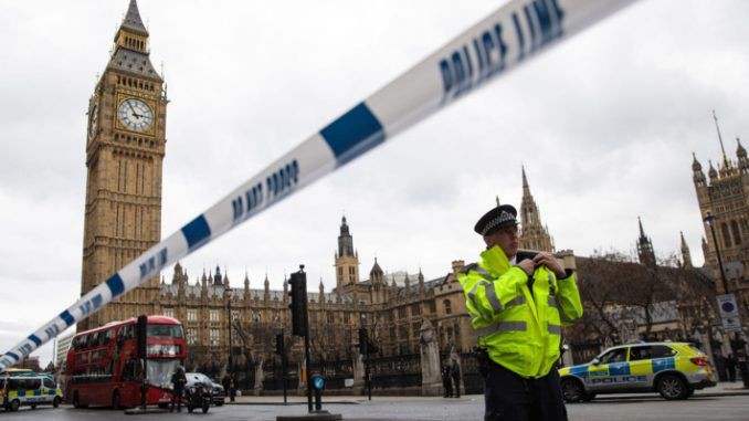 The corpse found slumped against the Houses of Parliament has been identified as belonging to a pedophile who had entered the UK illegally.