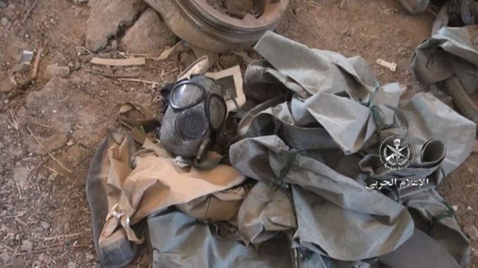 Syrian army discover US-rebel chemical weapons factory in Syria