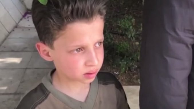 Syrian boy featured in chemical attack video admits White Helmets conducted false flag