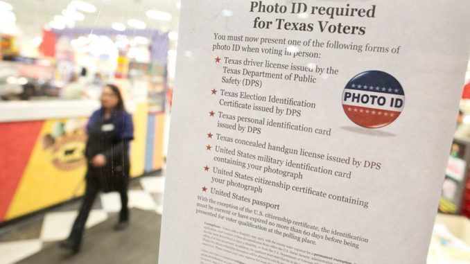 Texas court reinstates voter ID law