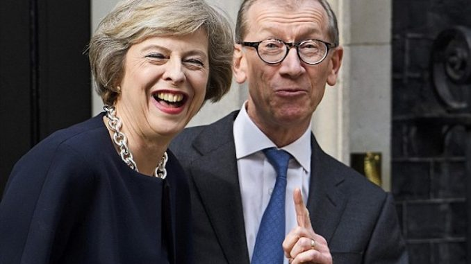 Theresa May's husband makes huge profits from Syrian air strikes