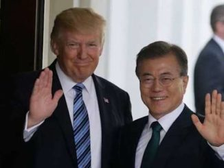 "South Korean President Moon Jae-in says President Trump deserves to receive the Nobel Peace Prize in recognition for the ""unprecedented achievement"" of bringing peace to Korea."