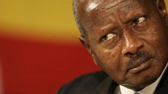 """The president of Uganda has moved to ban the nation's citizens from performing oral sex on each other because """"the mouth is for eating""""."""