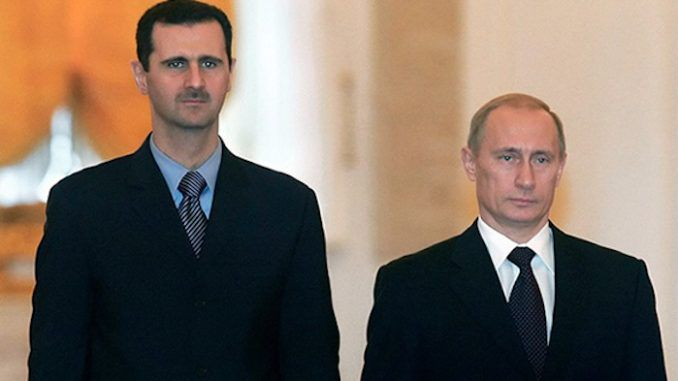 WikiLeaks cable reveals plan to destroy Syria, but leave Russia alone
