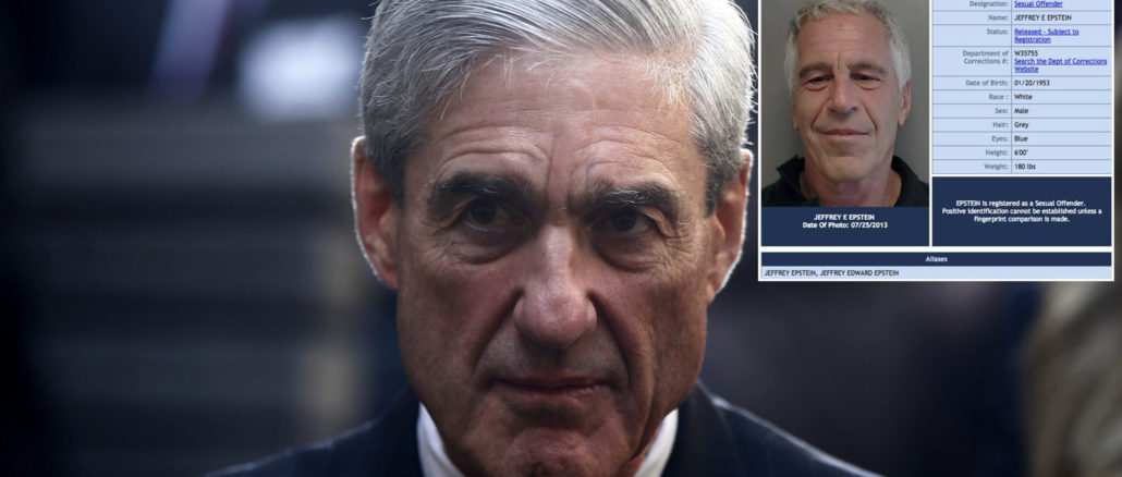 According to a series of bombshell FBI documents released on Thursday, known child predator Jeffrey Epstein had struck a deal with the FBI, which was headed by Robert Mueller in 2008.