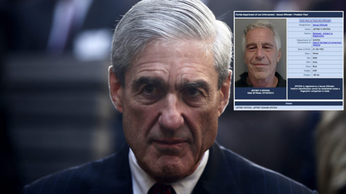 Special Counsel Robert Mueller struck deal with pedophile billionaire Jeffrey Epstein