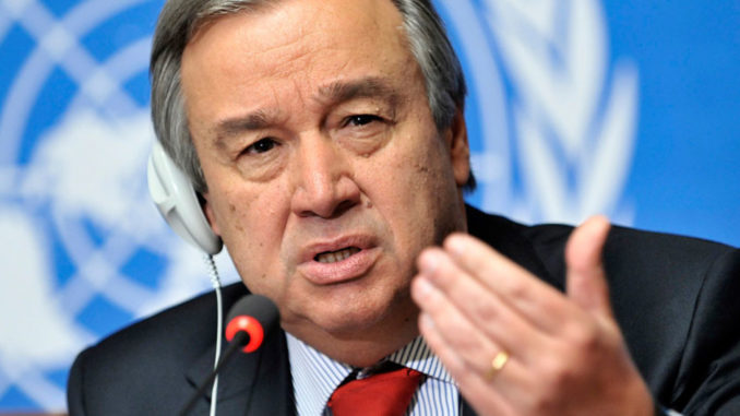 UN Secretary General warns we are about to be plunged into World War 3