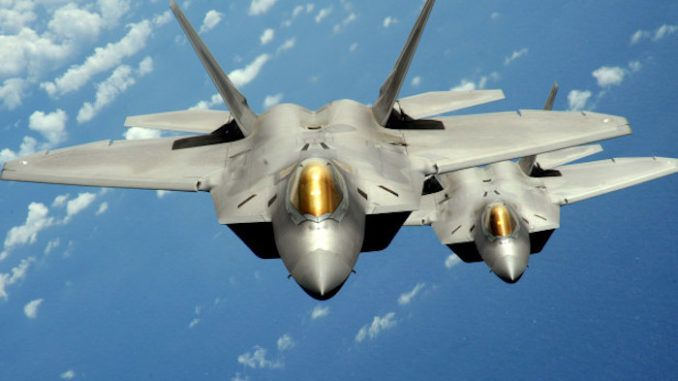 US Air Force Jets intercept Russian bombers flying over Alaska