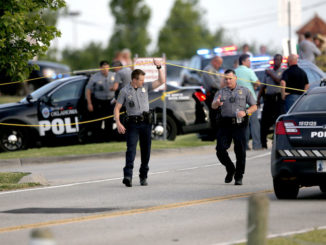 An active shooter who was terrorizing an Oklahoma City restaurant and had shot two diners was stopped by an armed citizen with a pistol, according to police.