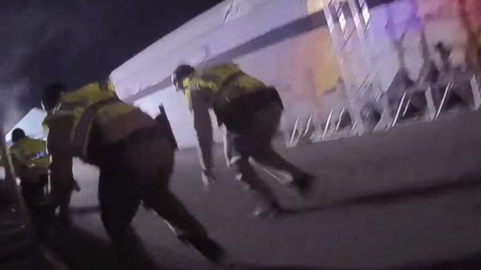Police body camera footage from the night of the Las Vegas massacre has surfaced and it totally contradicts the official narrative pushed by the mainstream media and the Las Vegas Police Department.