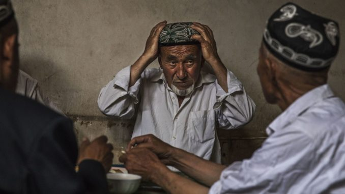 """China's ruling Communist Party government are detaining Muslims in """"re-education camps"""" and forcing them to eat pork and drink alcohol, according to a former internment camp inmate."""