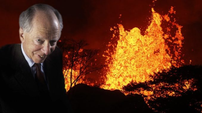 Hawaii volcanic eruption was created by Rothschilds to induce huge tsunami