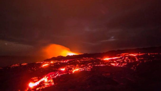 Hawaii volcanic eruptions caused by fracking