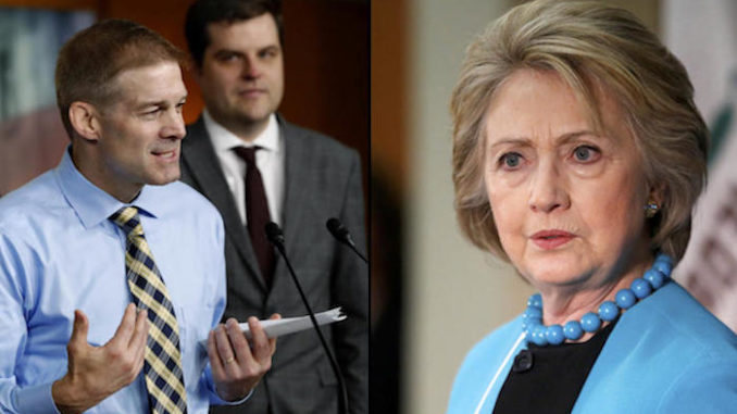 """Congress has called for the immediate arrest of Hillary Clinton and the appointment of a """"second special counsel"""" to investigate widespread charges of corruption and political malfeasance against Clinton and her allies in the Obama administration."""