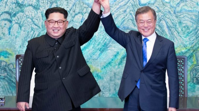 Military industrial complex stocks crash as North and South Korea achieve peace