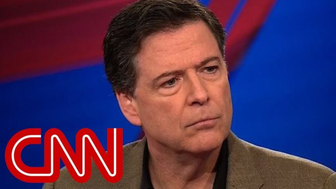 FBI reveal James Comey colluded with CNN to try and destroy Trump