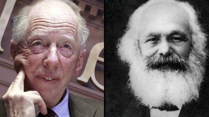 Historians prove Karl Marx was related to the Rothschilds