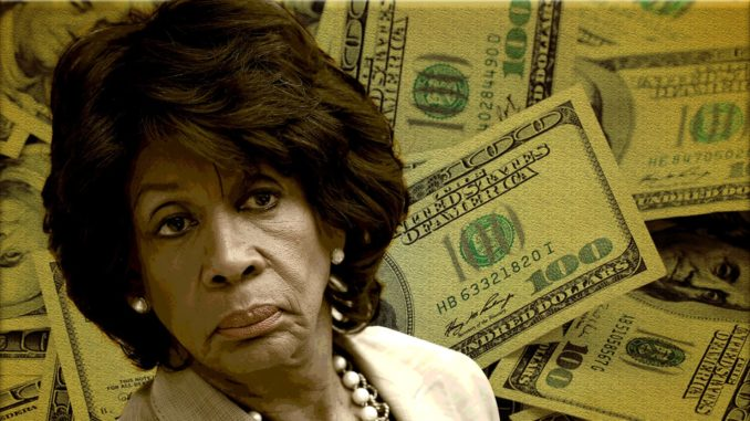 Maxine Waters caught funnelling 100k in campaign funds to daughters bank account