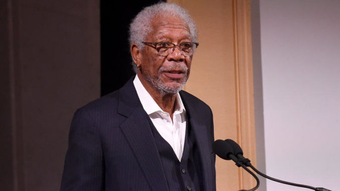 Morgan Freeman claims he is being 'framed' after showing support for Trump