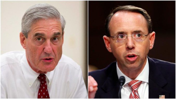 Deep State memo reveals Rod Rosenstein was blackmailed into appointing Mueller
