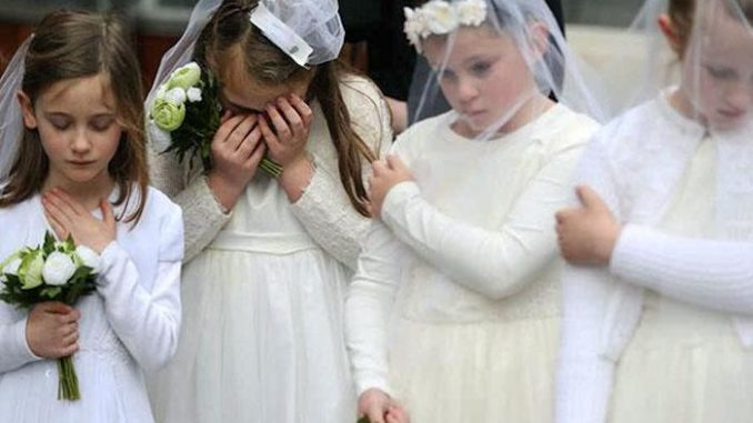 Girls as young as 10-years-old have been legally married to much older pedophiles due to legal loopholes that still exist in 51 U.S. states, according to a shocking new investigation.