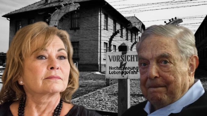 Roseanne Barr accuses George Soros of being a nazi collaborator