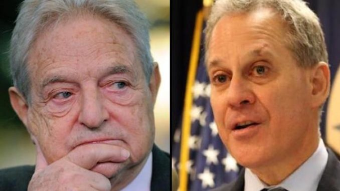 Eric Schneiderman funded by George Soros
