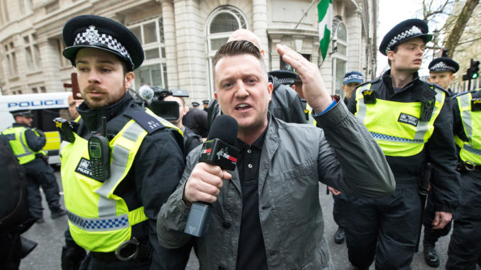 UK government force media outlets to delete articles around arrest of Tommy Robinson
