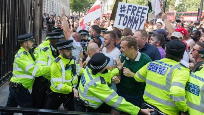 Millions worldwide protest Tommy Robinson imprisonment
