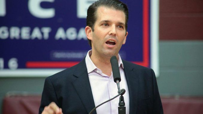 Trump Jr says Tommy Robinson imprisonment is reason for original Brexit