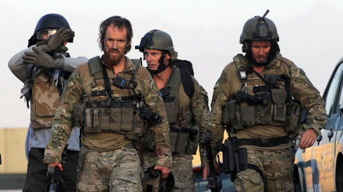 A British SAS sergeant deployed in Afghanistan bludgeoned three Taliban pedophiles to death using a claw hammer after his weapon malfunctioned, according to British reports.