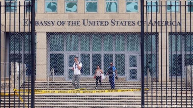 US Diplomats evacuated from China following mysterious booms