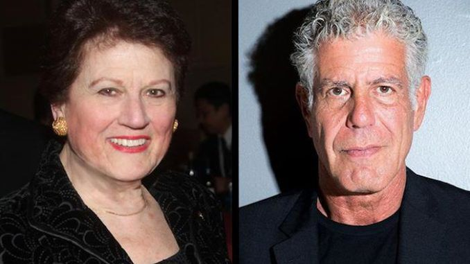 Anthony Bourdain's mother insists her son did not commit suicide